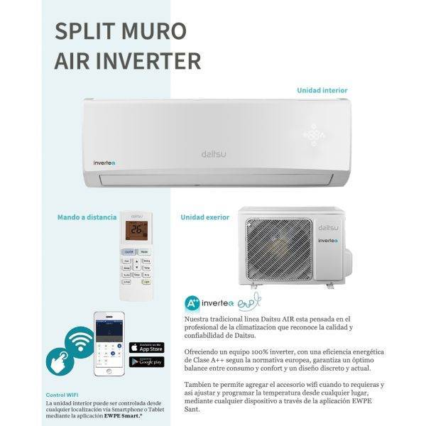 COMPONENTES Daitsu inverter AIR