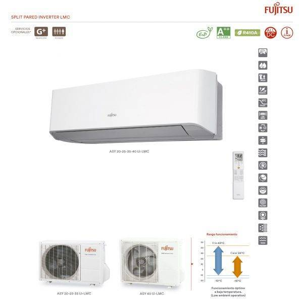Componentes Split Pared Inverter LMC